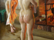 """Андерс Цорн (Anders Zorn), """"Мать и дочь"""""""