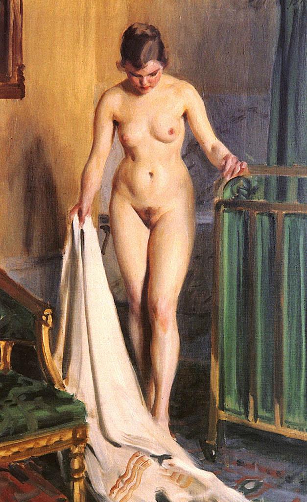 "Андерс Цорн (Anders Zorn), ""In the Bedroom"""