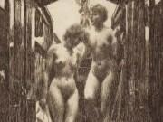 """Андерс Цорн (Anders Zorn), """"Cabin"""" (Drawing)"""