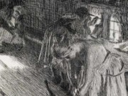 "Андерс Цорн (Anders Zorn), ""Воскресное утро"" (Drawing)"