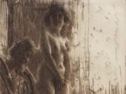 "Андерс Цорн (Anders Zorn), ""Темный угол"" (Drawing)"